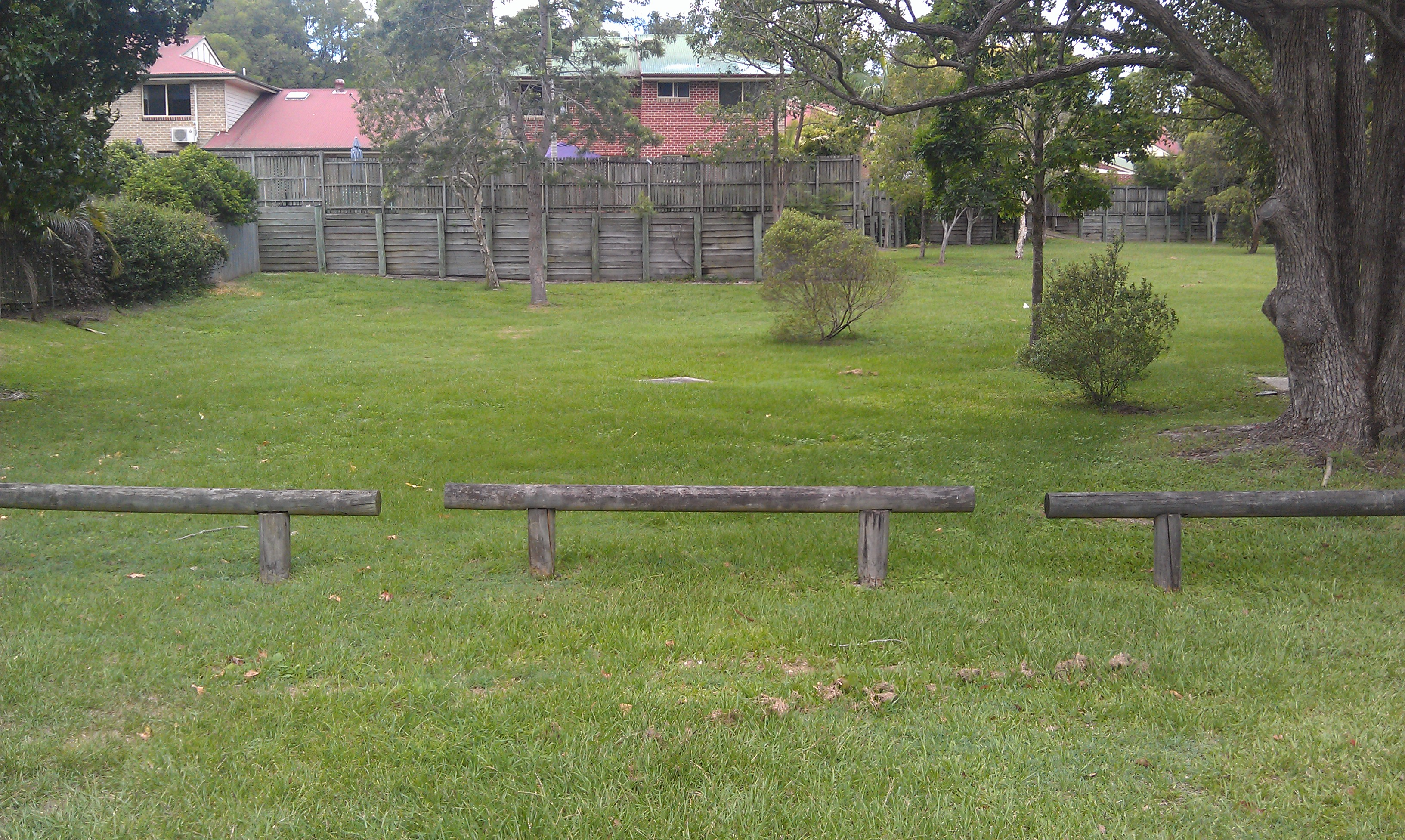 A Park with Railings